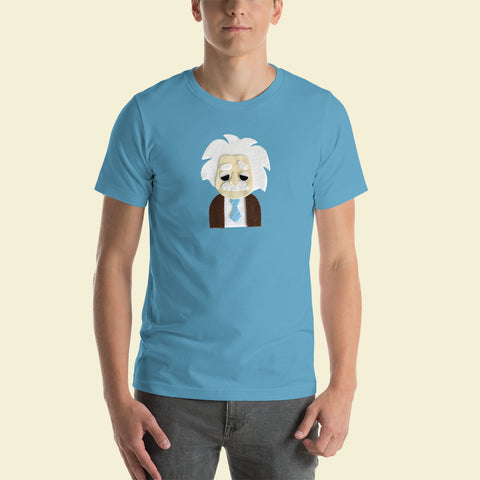 Einstein - Men's T-Shirt