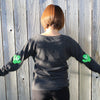 Cactus - Elbow Patch - Women's Long Sleeve Pullover
