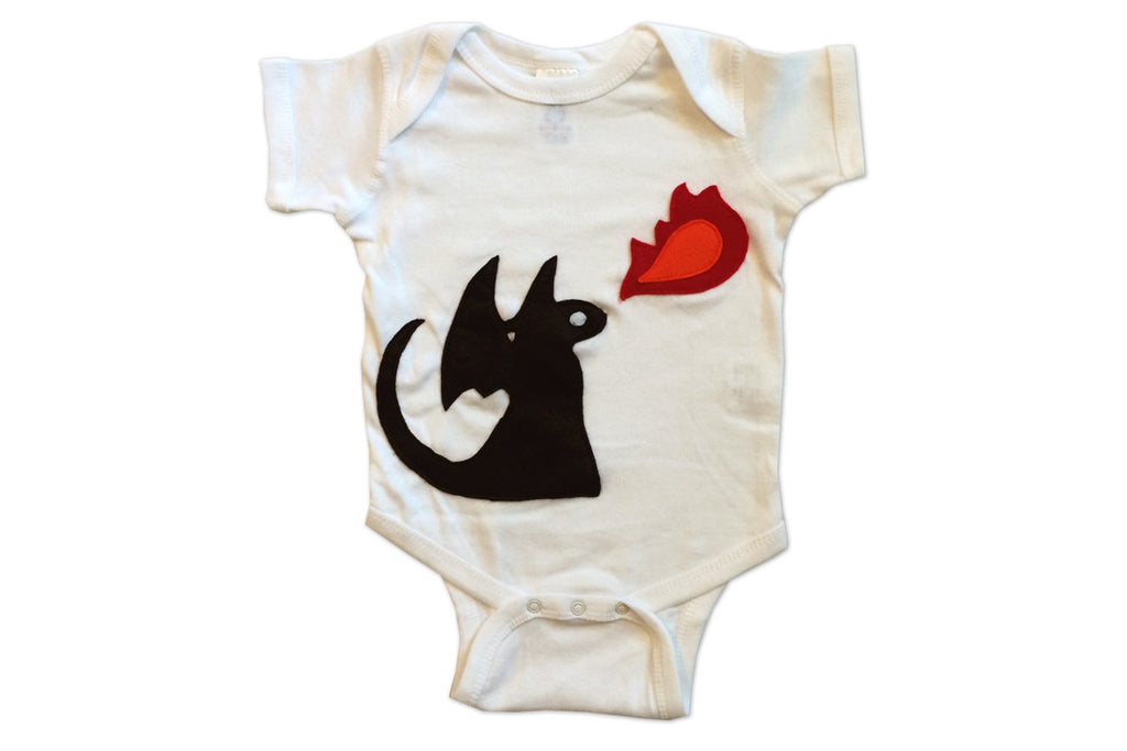 Fire Dragon Infant Bodysuit