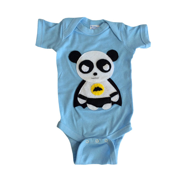 Super Hero Onesie - Team Super Animals - Flying Panda