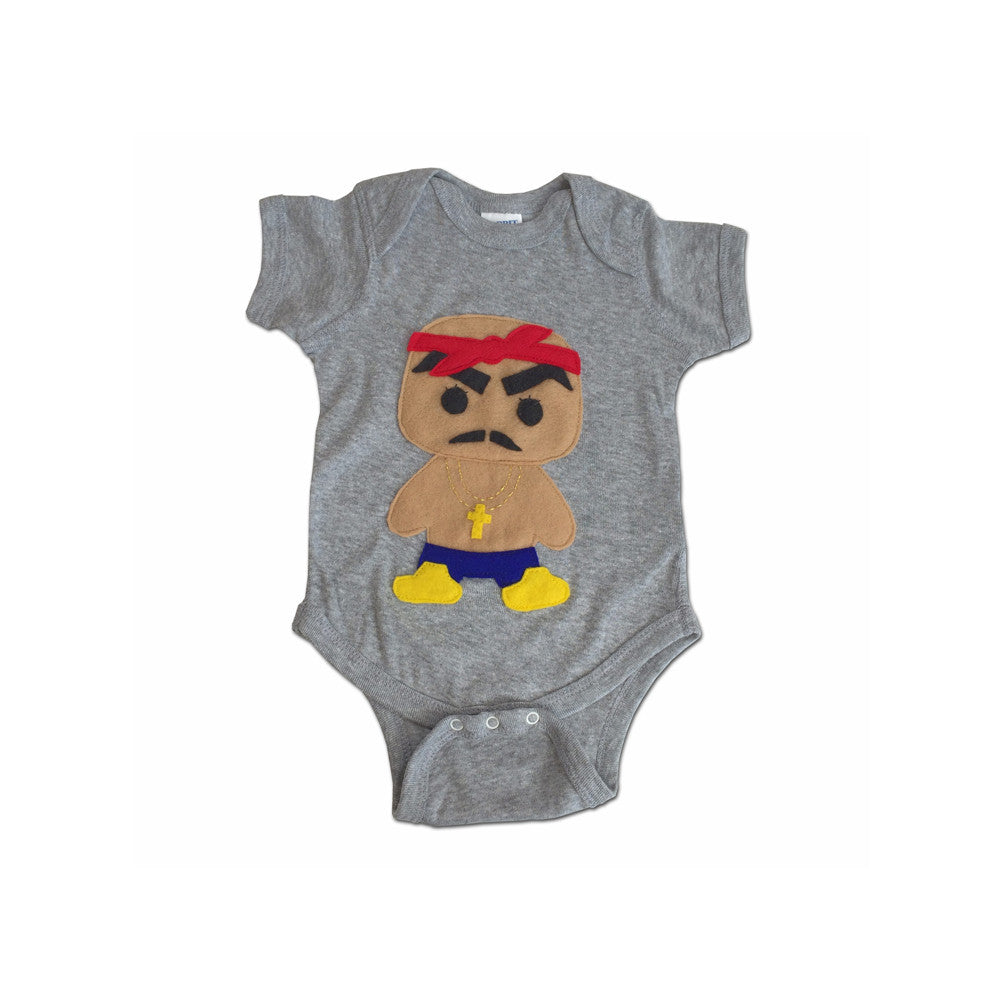 Hip Hop Onesie- Rad Rapper - Red Bandana