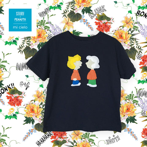 mi cielo x Snoopy - Lucy and Schroeder - Kid's Shirt