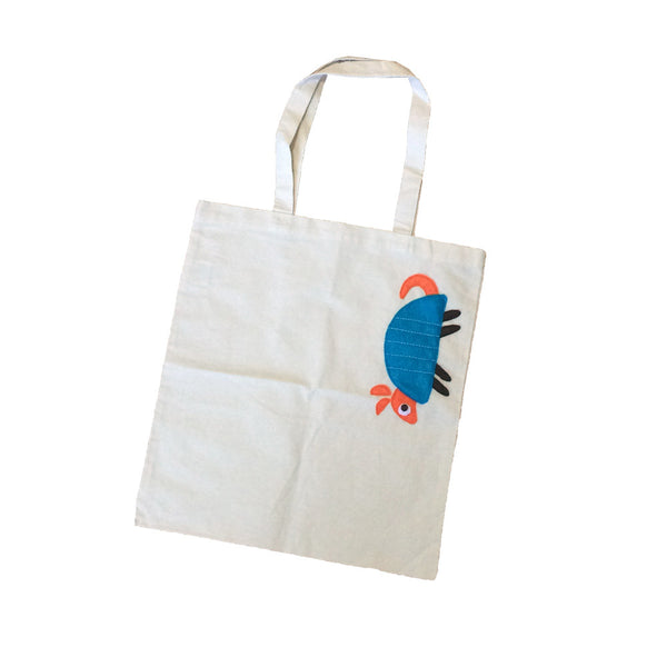 Armadillo Ivory Tote Bag - We Love Texas!