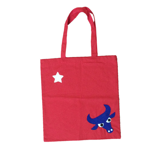 Longhorn Red Tote Bag - We Love Texas!