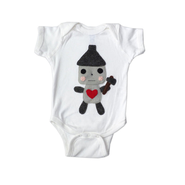 LOVE - Tin Man - Baby Onesie