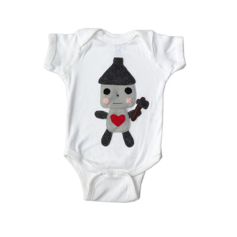 Tin Man -The Wonderful Wizard of Oz - Baby Onesie