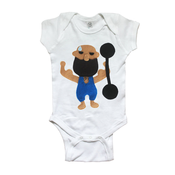 The Strongest Man - Infant Bodysuit - The Greatest Showman x mi cielo
