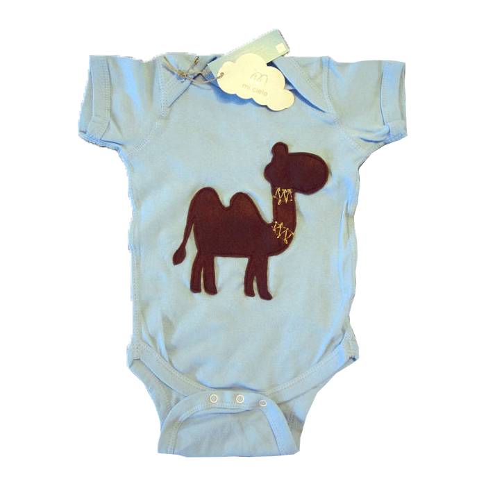 Gorgeous Camel Infant Bodysuit