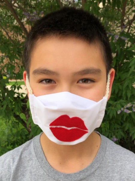 Big Lips [Kids Size] Face Mask - Washable and Reusable