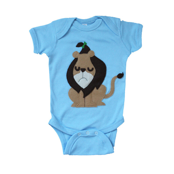 The Cowardly Lion -The Wonderful Wizard of Oz - Baby Onesie