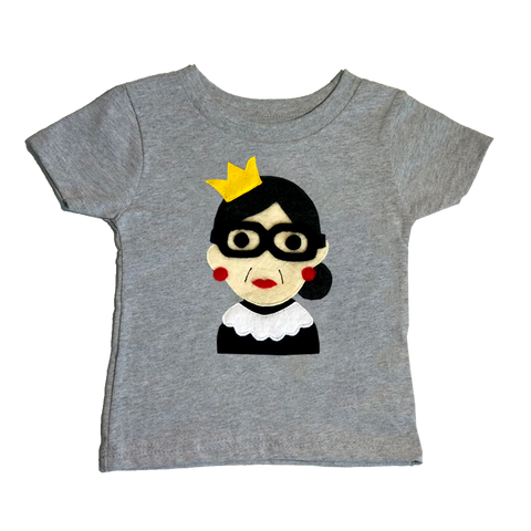 RBG - Kids Shirt - Gray