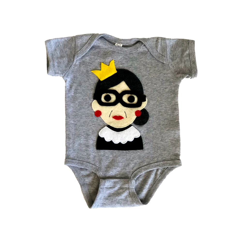 RBG - Infant Bodysuit - Gray