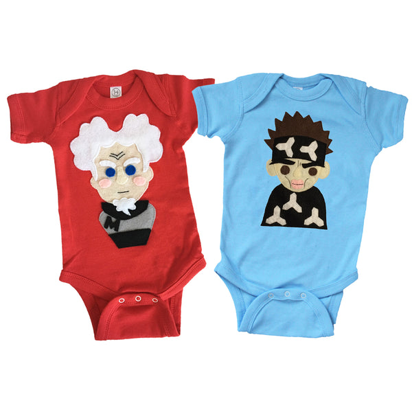 I am The Supermodel! - Zoolander & Mugatu Inspired Baby Bodysuit Combo