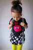 Kids T-shirt - Bunny Monster - mi cielo x Matthew Langille