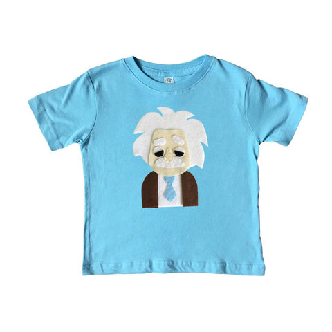 Einstein - Kids Shirt - Blue