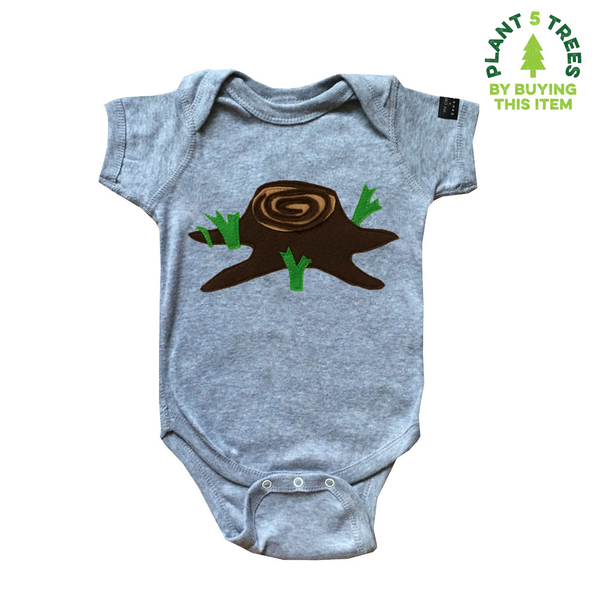 Giving Tree -Baby Bodysuit - mi cielo x Donald Robertson