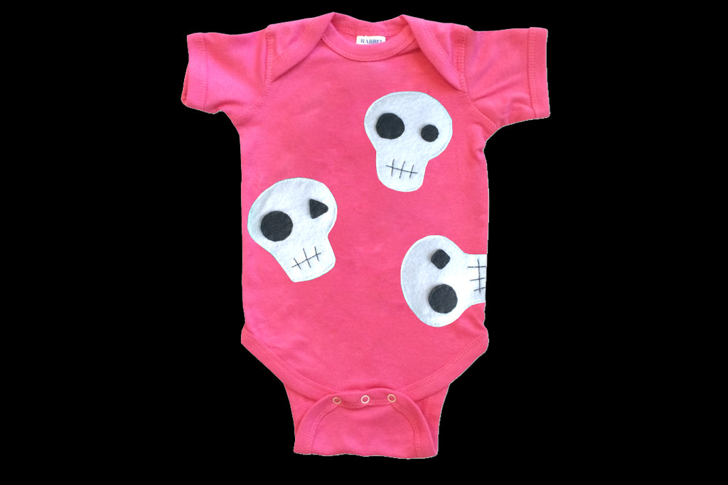 Baby Onesie - Skulls can be cute...