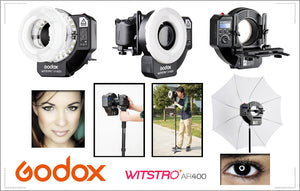 RING FLASH GODOX AR400 DE 400W