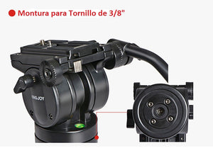 CABEZAL KINGJOY VT2510 PARA VIDEO PROFESIONAL