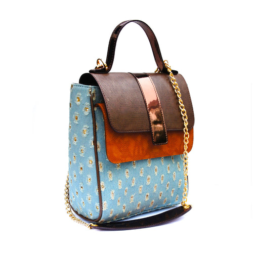 Firefly Denim Satchel