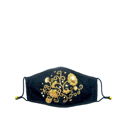 Kiwi Gold Zari Knotted Headband
