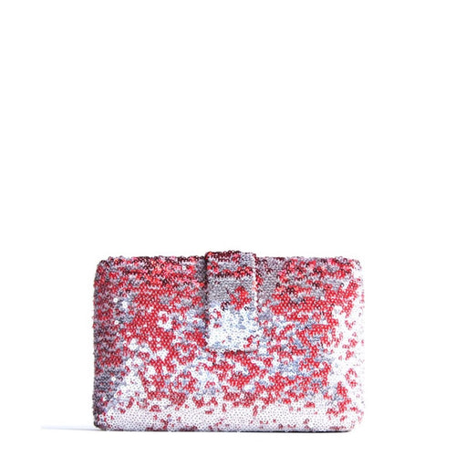 Red Sparkle Clutch