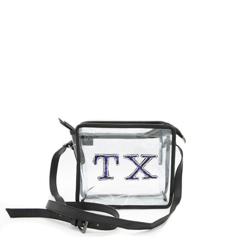 Texas Black Game Day Bag