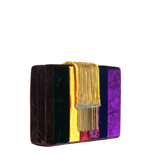 Velvet Dreamy Clutch