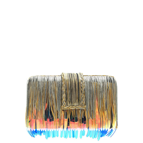 Rust Tribal Clutch