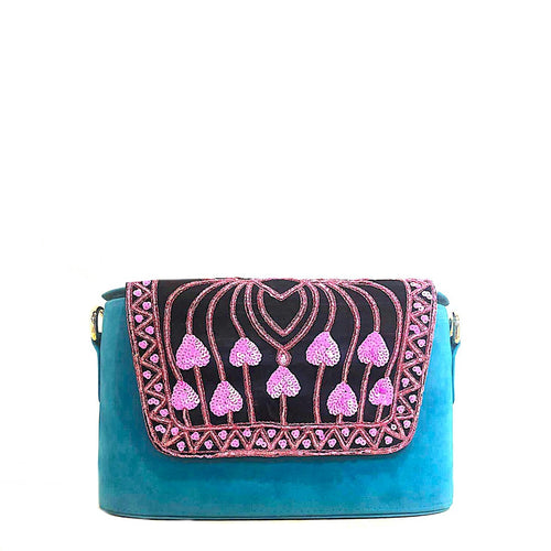 Blueberry Clutch