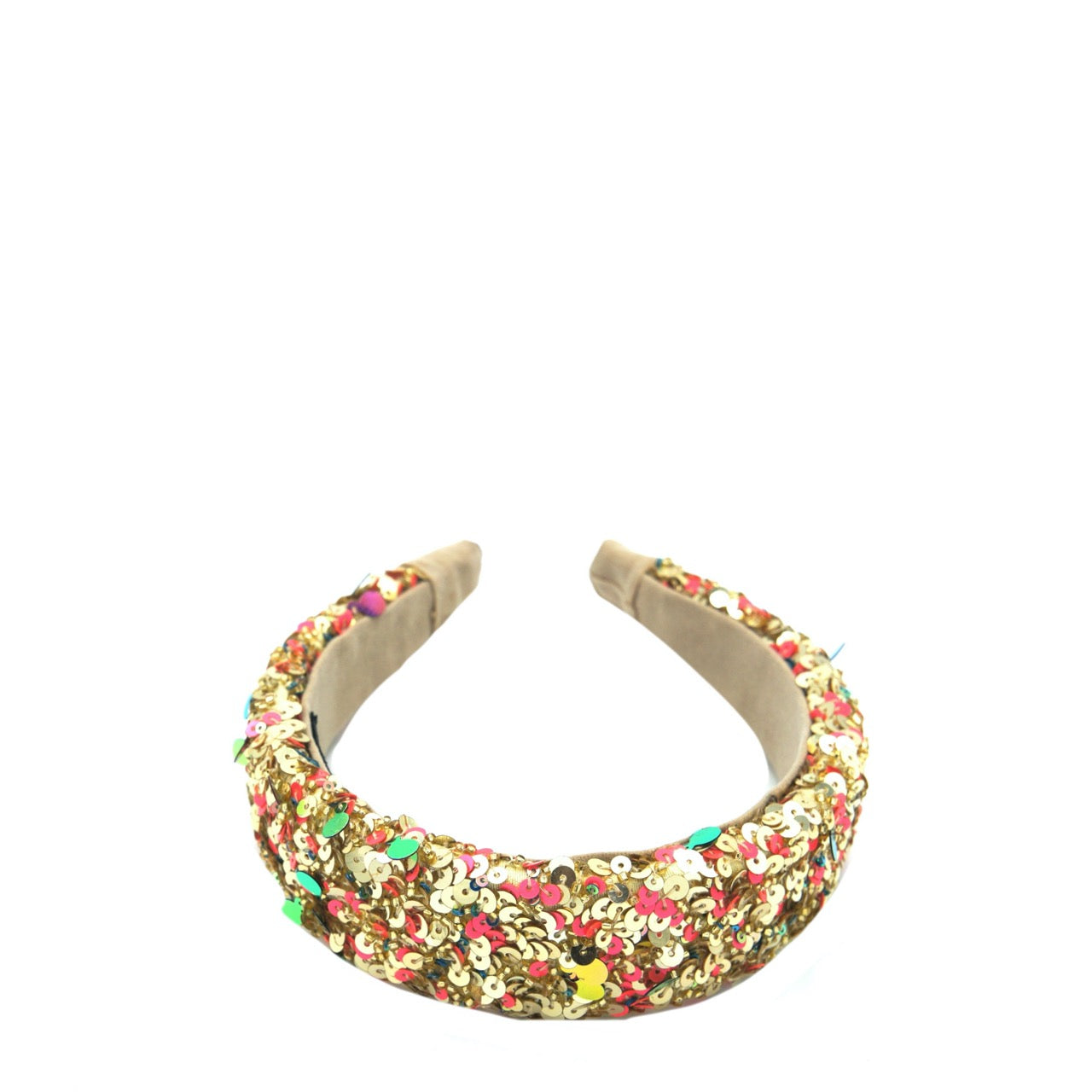 Gold Donut Headband