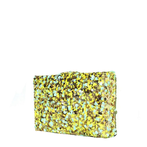 Lime Kitsch Clutch