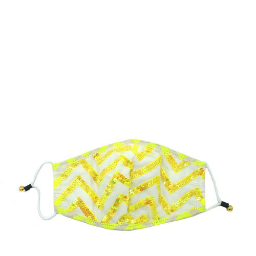 Neon Chevron Mask