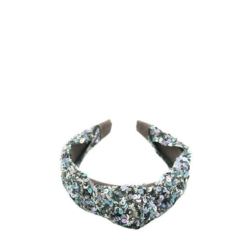 Pewter Kitsch Knotted Headband