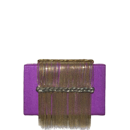 Purple Dreamy Clutch