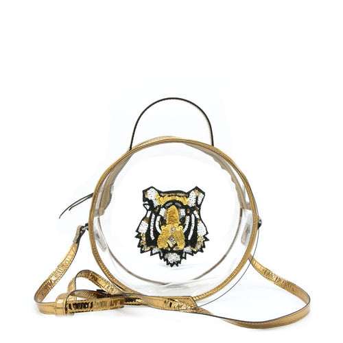 LSU Tiger Round Game Day Bag