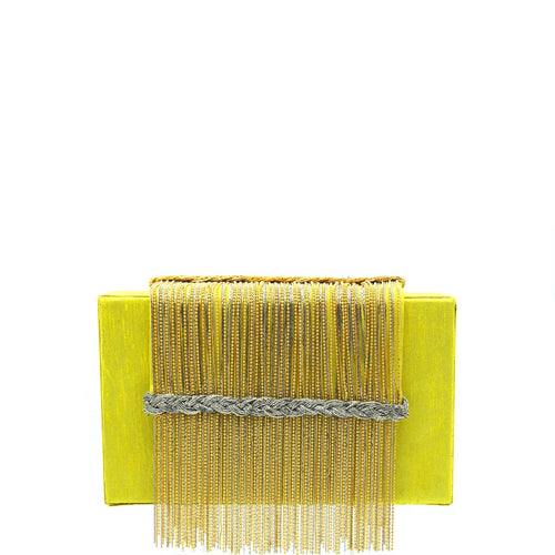 Yellow Dreamy Clutch