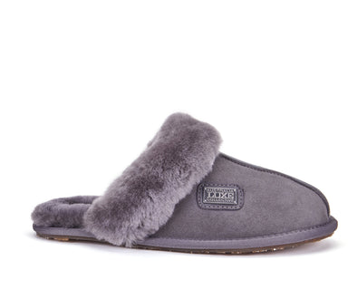 CLOSED MULE GRAY