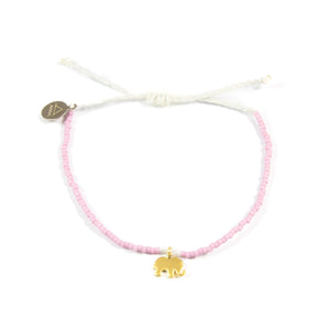 Plum & White Ellie Bracelet