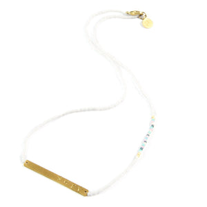 White Multi SURF Necklace