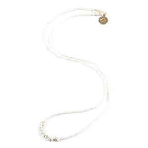 White Day to Night Necklace in Silver