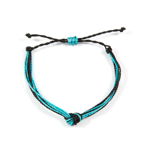 Blue & Black Men's Carlos Bracelet