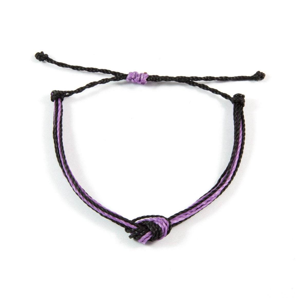 Purple & Black Men's Carlos Bracelet