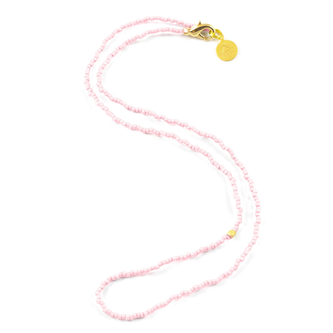 Blush One of a Kind Necklace in Gold