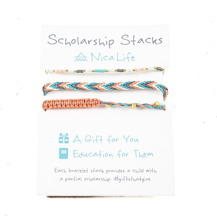 Desert Sunset Bracelet Stack