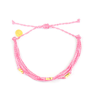 Pink Macua Bracelet in Gold