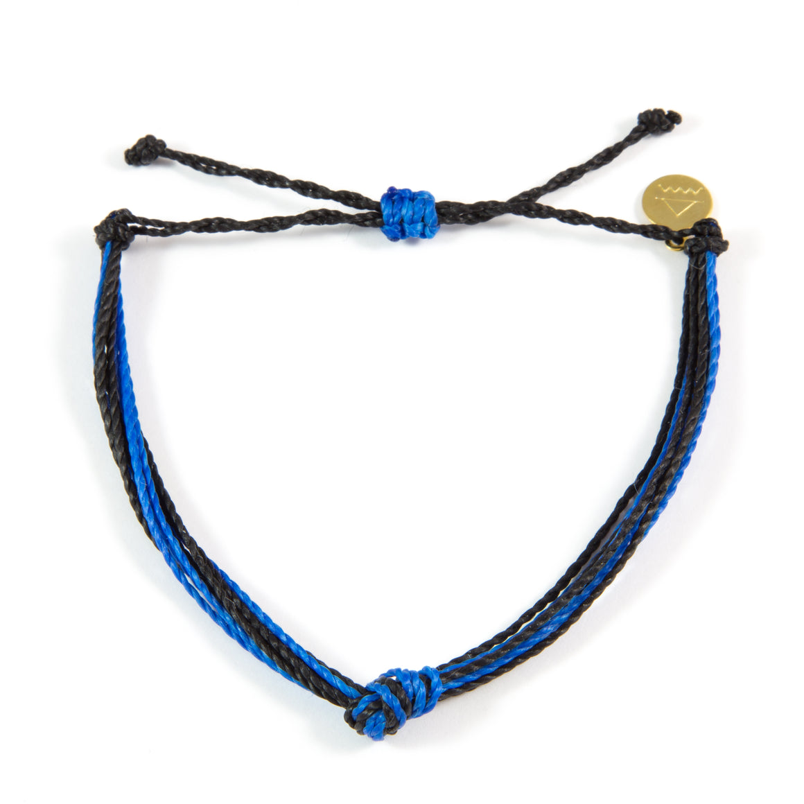 Black & Bright Blue Carlos Bracelet
