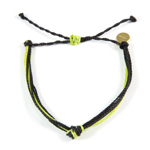 Black & Bright Green Carlos Bracelet