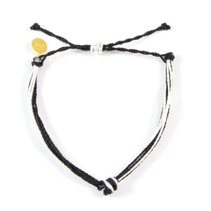 Black & White String Carlos Bracelet
