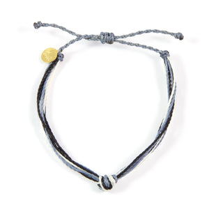 Denim, White & Black Carlos Bracelet